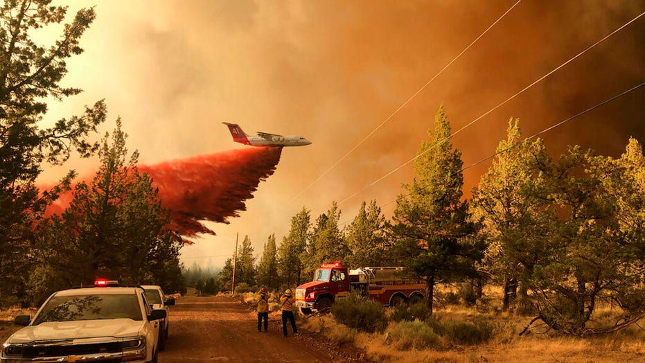 Wildfires spread across almost 1M miles of drought-stricken US