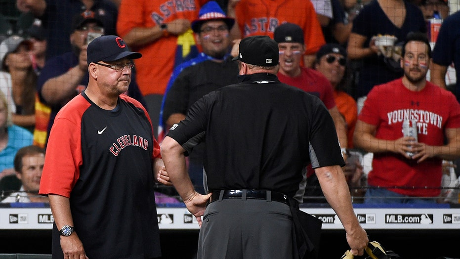 Indians' Francona stepping down for physical health issues