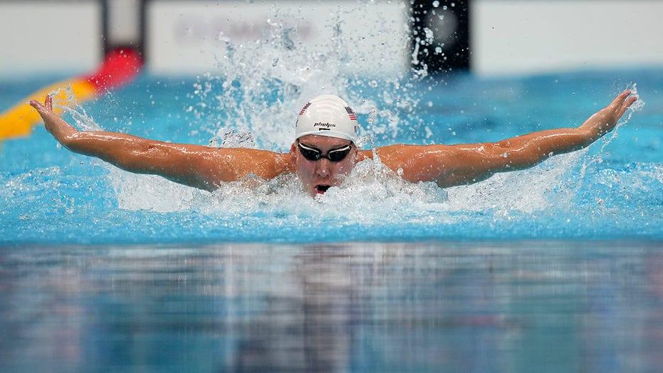 Japanese star Seto misses in 400 IM as Olympic swim starts