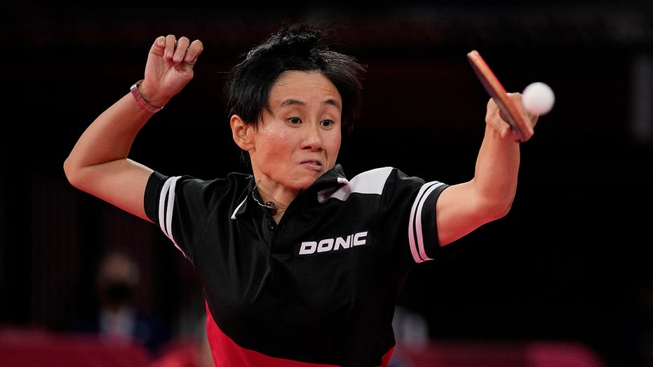 Austrian Olympic table tennis star's young daughter wants mom to 'lose quickly and come home'