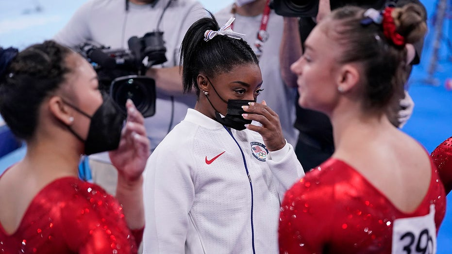 Analysis: For Biles, peace comes with a price – the gold
