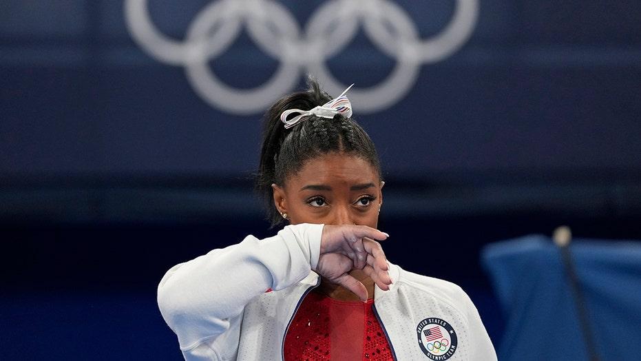Simone Biles' NFL boyfriend was 'sick' watching superstar gymnast struggle at Tokyo Olympics