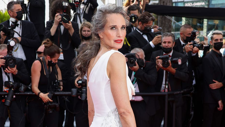 Andie MacDowell's managers didn't want her to go gray — but she told them they're 'wrong': It's 'powerful'