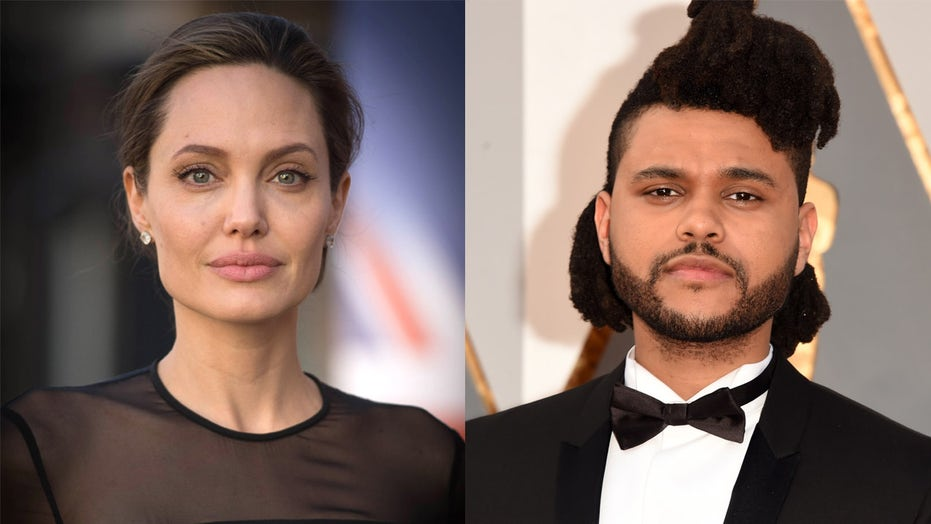 Angelina Jolie and The Weeknd attend same concert amid dating rumors
