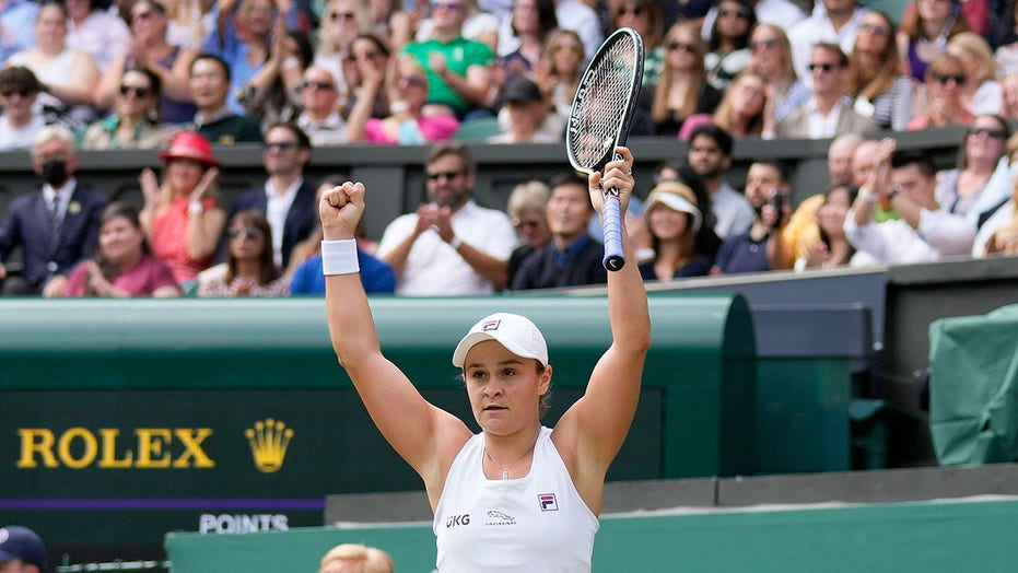 No. 1 Barty to face Pliskova in 1st Wimbledon final for both