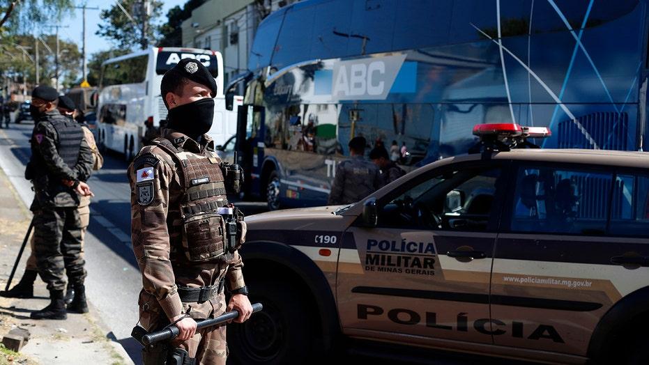 Brazil police release Boca Juniors team after stadium brawl