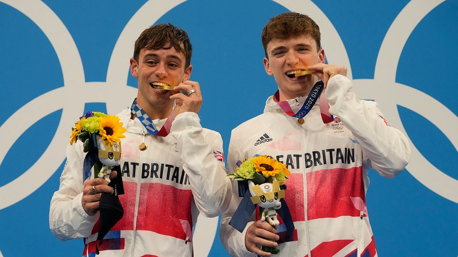 Brits win 10M synchro, no golden sweep for China's divers
