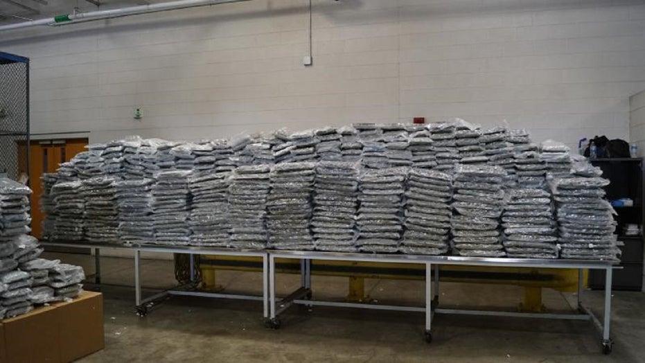 US Border agents in Detroit seize more than a ton of marijuana near Canadian border