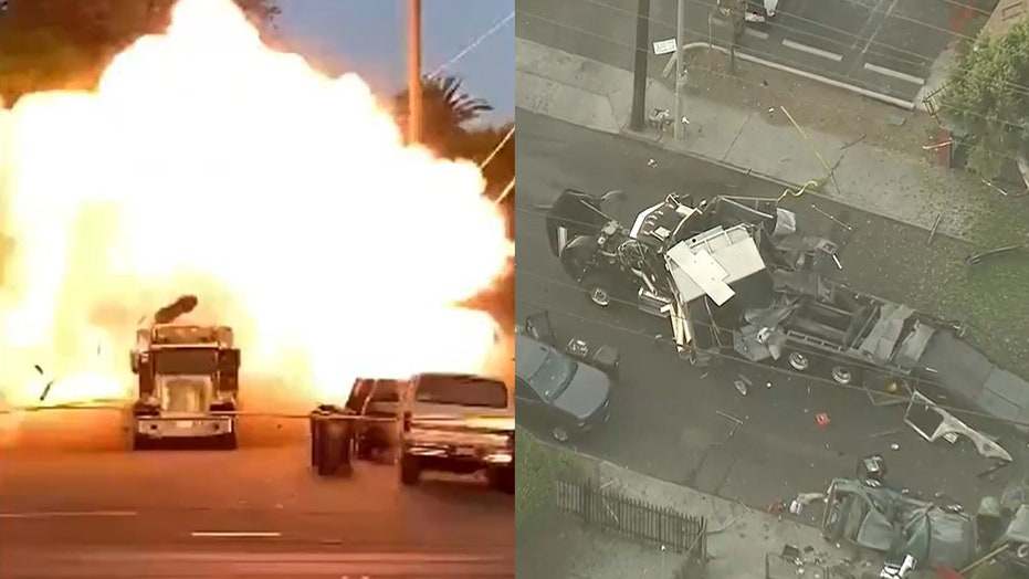 Los Angeles explosion: 16 injured–3 critically– after cache of illegal fireworks explodes