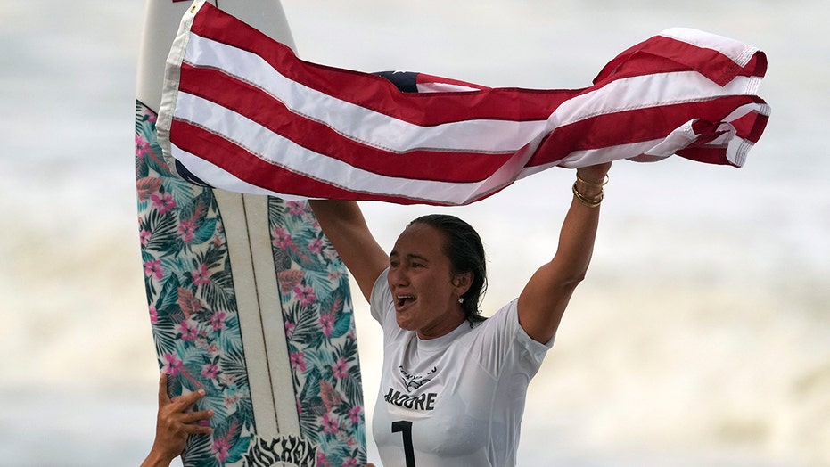 Tokyo Olympics 2021: American surfer Carissa Moore takes home gold in sport's debut