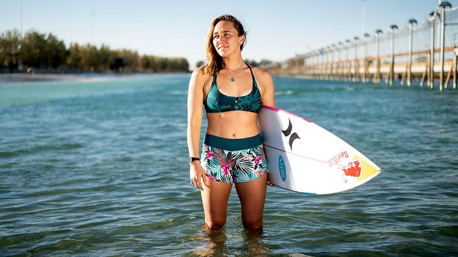 Female surfers overcome sexism's toll to earn Olympic berth