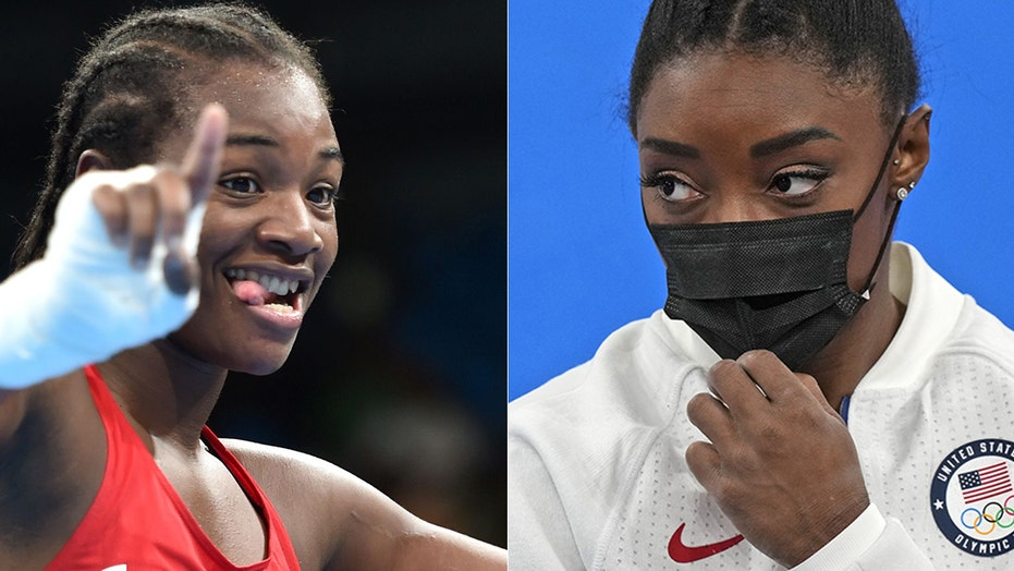 Simone Biles 'did the right thing' when she withdrew, two-time Olympic gold medalist Claressa Shields says