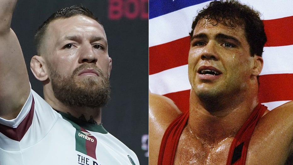 Kurt Angle, Olympic gold medalist and ex-WWE star, brushes off Conor McGregor injury: 'Big deal'