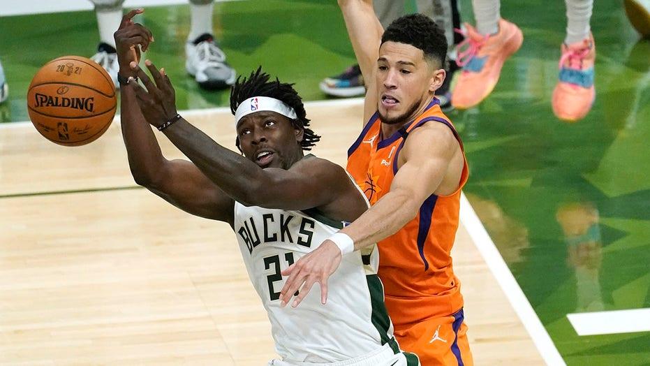 Devin Booker no-call draws massive scrutiny toward NBA refs in Game 4