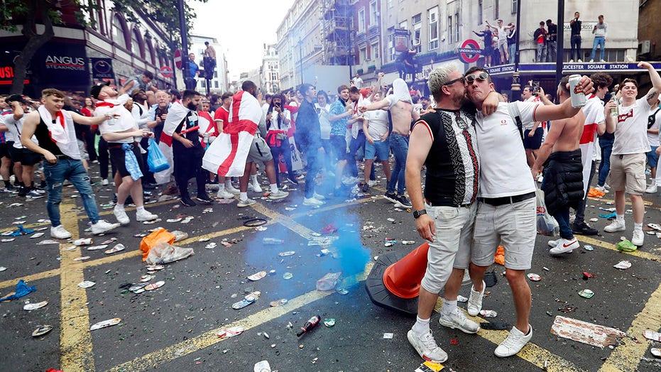 Euro 2020 fans create chaos before England-Italy final
