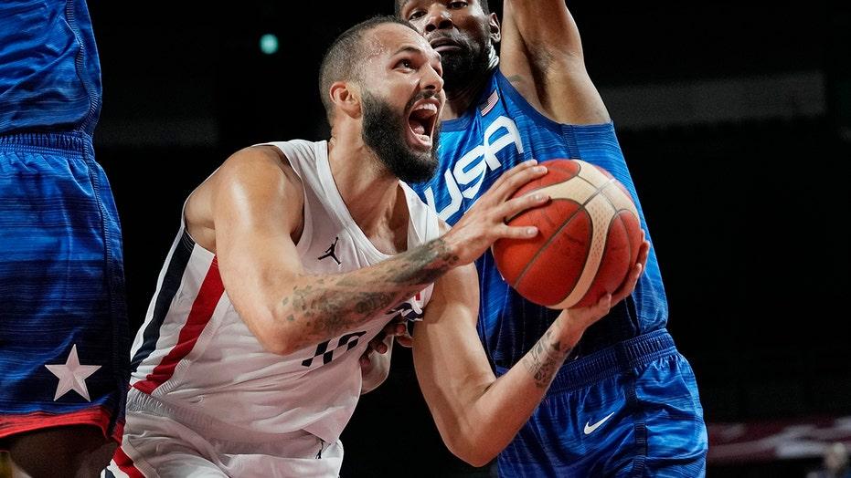 France shocks Team USA in Olympics men's basketball opener