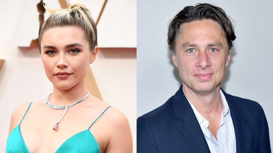 Florence Pugh reveals why she thinks her relationship with Zach Braff 'bugs people'