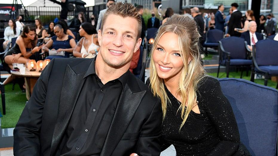 SI Swimsuit model Camille Kostek and longtime love Rob Gronkowski enjoy cozy date night at ESPY Awards