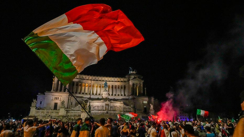 Italy erupts as Europe's soccer champions come home to Rome