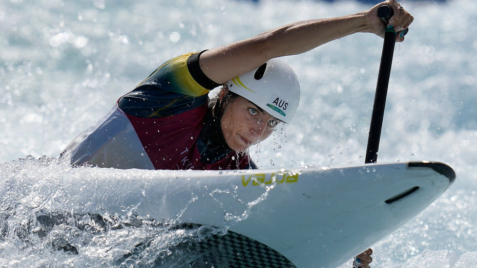 Australia's Jessica Fox wins first Olympics women's canoe slalom gold