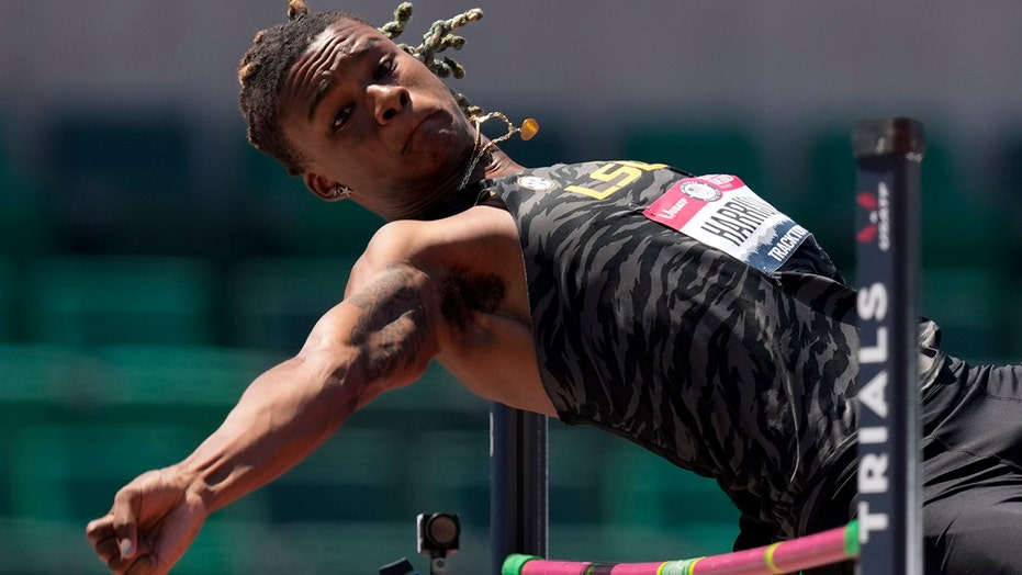 Olympian Harrison chases rare long and high jump double