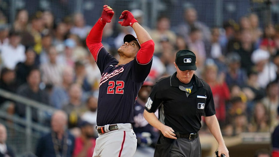 All-Star Soto hits 3-run homer, Nationals rout Padres 15-5