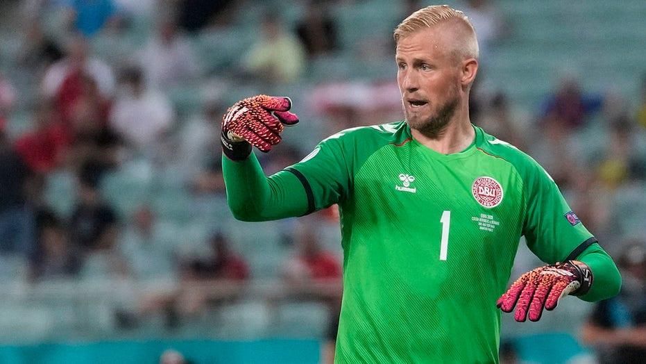 Denmark's Kasper Schmeichel takes swipe at England before Euro 2020 match