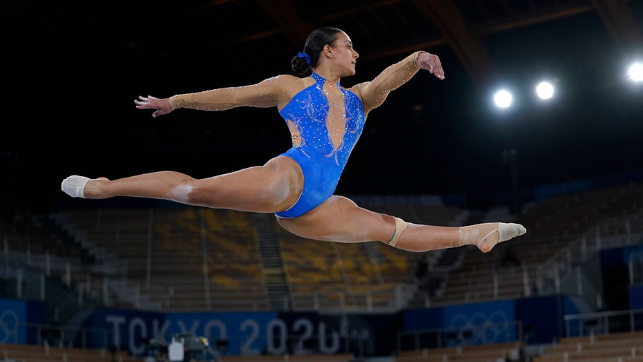Costa Rican gymnast's Olympic routine includes support for BLM