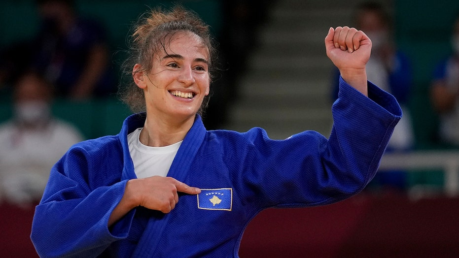 Judoka Nora Gjakova wins gold on mourning day for Kosovo