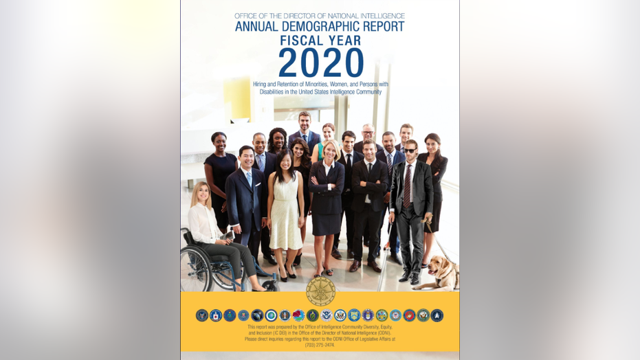 ODNI report's cover includes faked image adding diversity