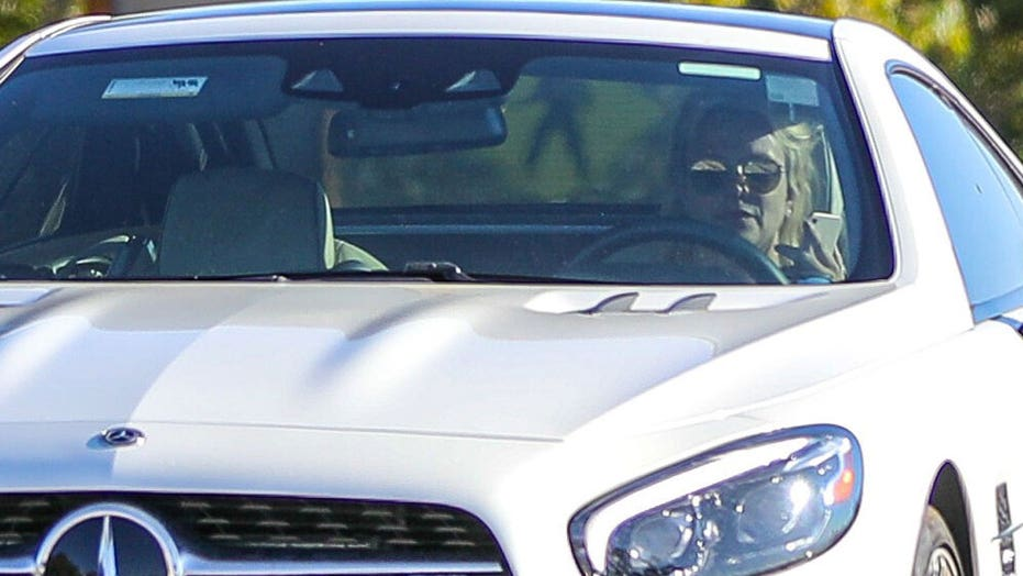 Britney Spears seen behind the wheel as it's reported she's 'happy' conservatorship 'now allows her to drive'