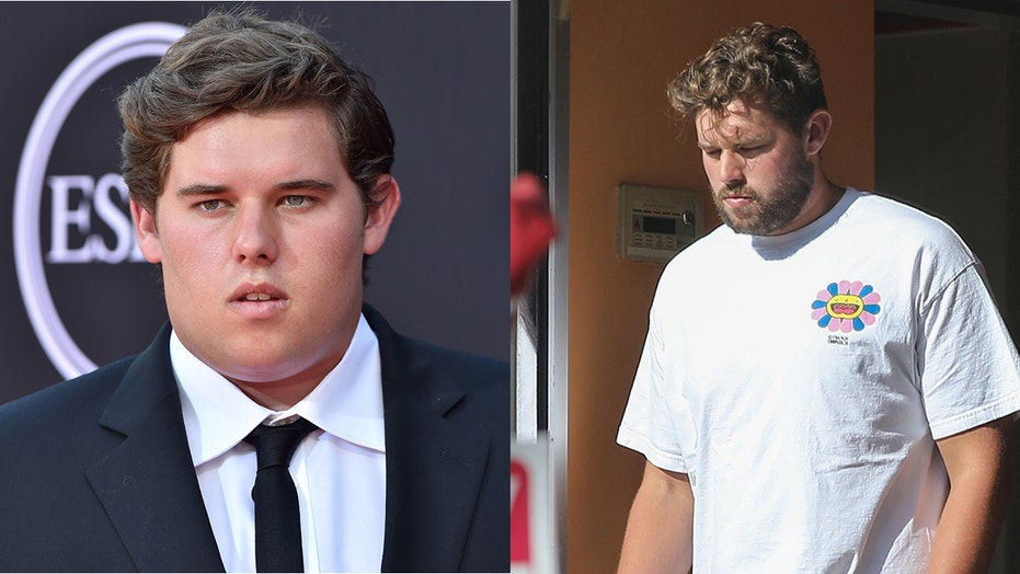 Arnold Schwarzenegger's son Christopher shows off trimmed-down figure after revealing weight loss