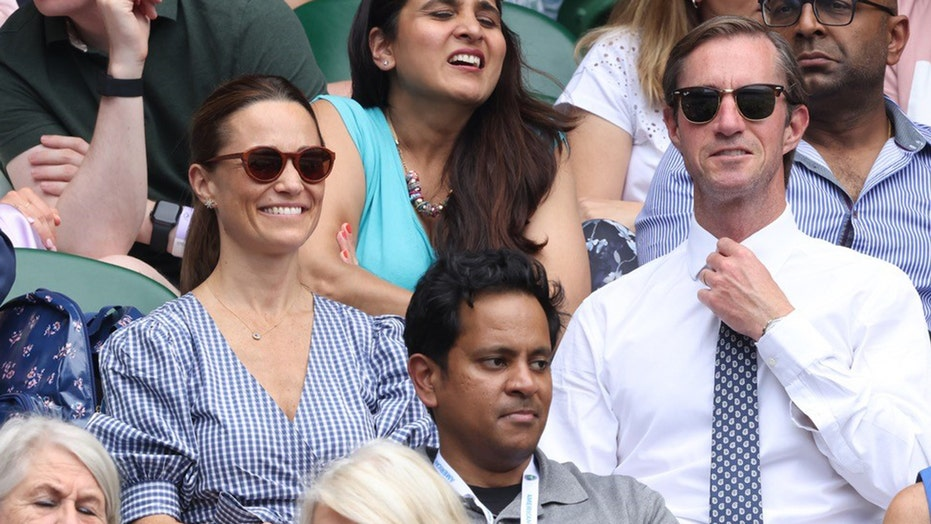 Pippa Middleton spotted enjoying Wimbledon in rare outing after welcoming second child