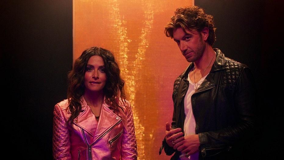 'Sex/Life' stars Sarah Shahi, Adam Demos on filming sex scenes and working with intimacy coordinator