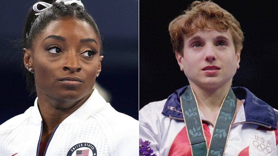 Simone Biles, Kerri Strug Olympics situations debated after superstar gymnast's Tokyo exit