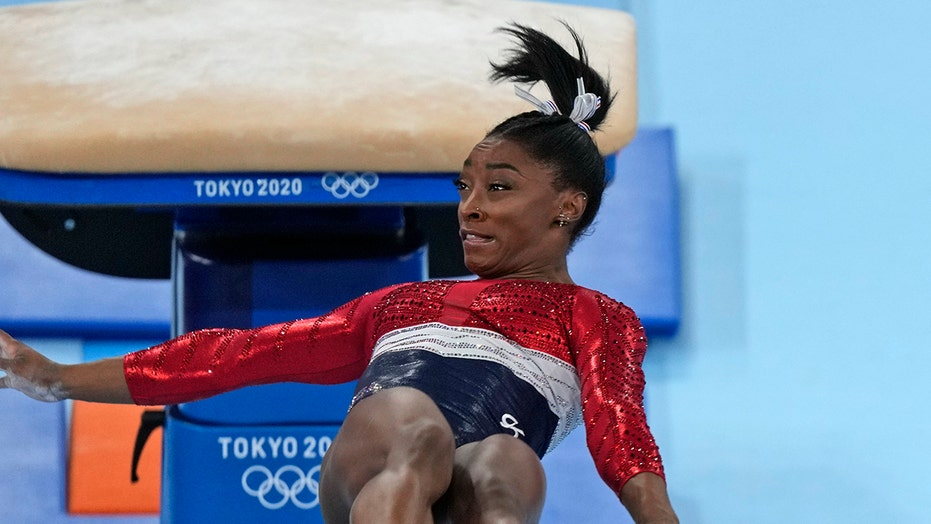 Simone Biles being able to land botched vault attempt 'is incredible,' Laurie Hernandez says