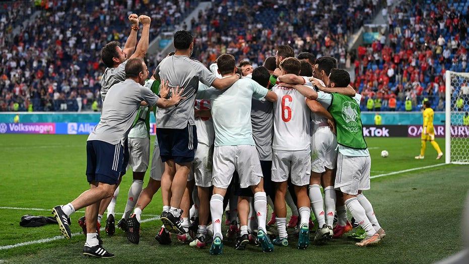 Spain beats Switzerland on penalties at Euro 2020