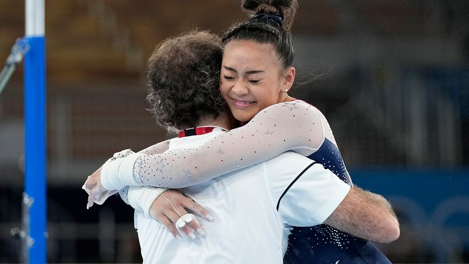 Suni Lee wins Olympic gold in gymnastics individual all-around