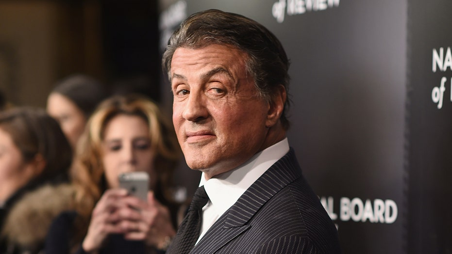 Sylvester Stallone celebrates 75th birthday with 'my wonderful family'
