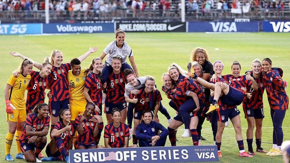 US Soccer denies women's team disrespected WWII veteran before send-off match
