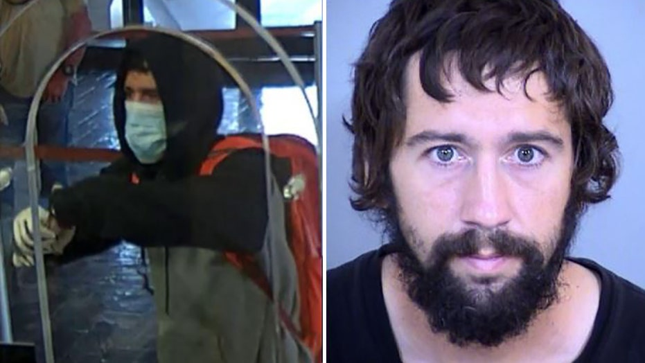 Arizona man who threatened to set off bomb in bank robbery attempt wanted to pay rent and buy car, police say