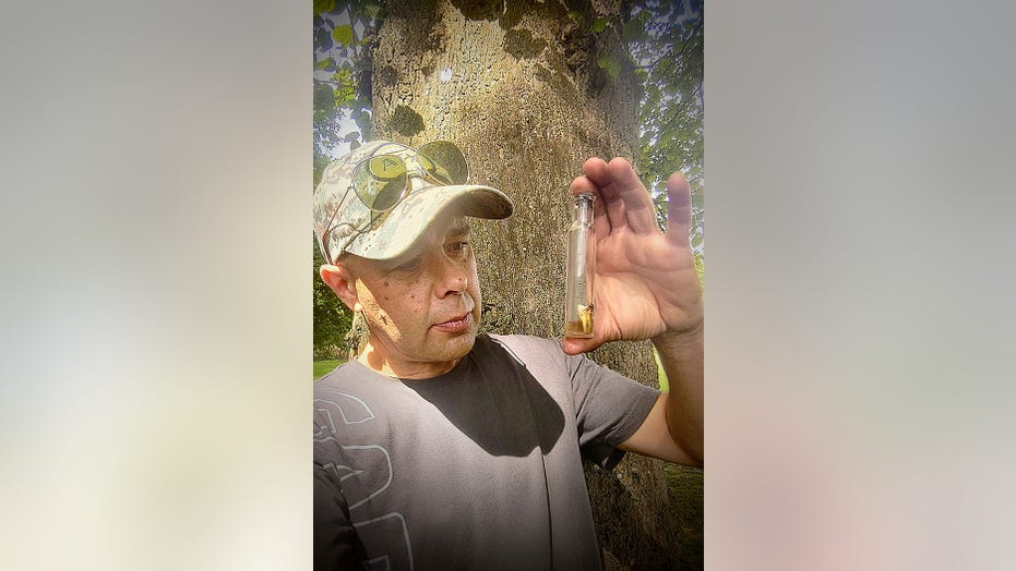 Man finds 'witch bottle' with human tooth and hair while searching woods