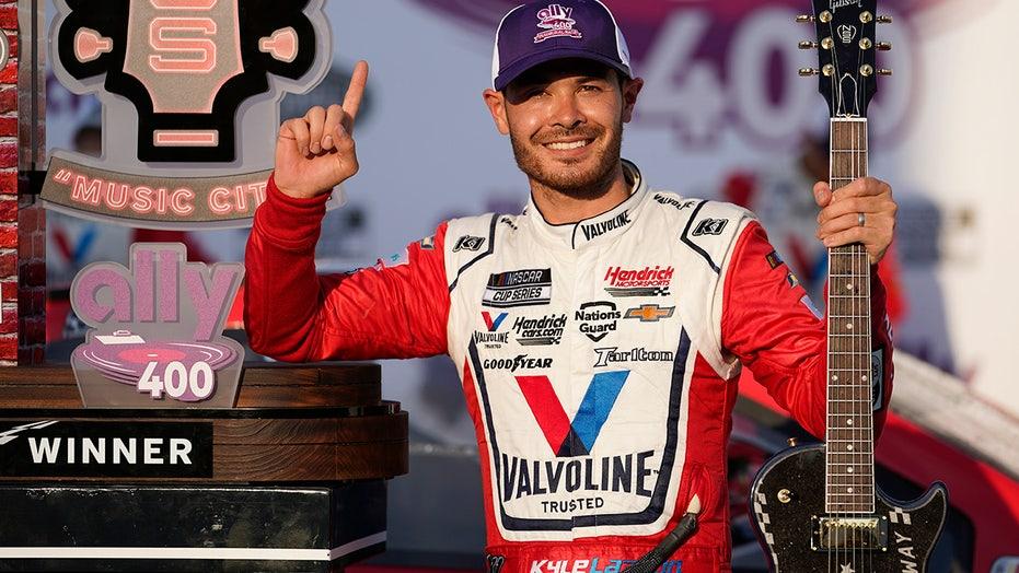 Kyle Larson's Hendrick Motorsports NASCAR contract extended through 2023