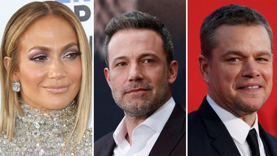 Matt Damon supports Jennifer Lopez, Ben Affleck's romance: 'I'm glad for both of them'