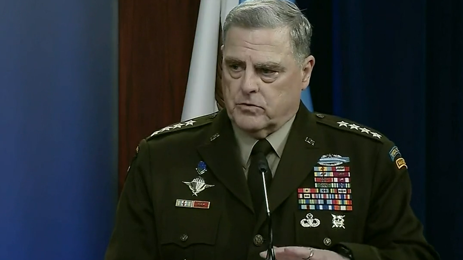 Milley maintains military is 'apolitical' after 'White rage' comment