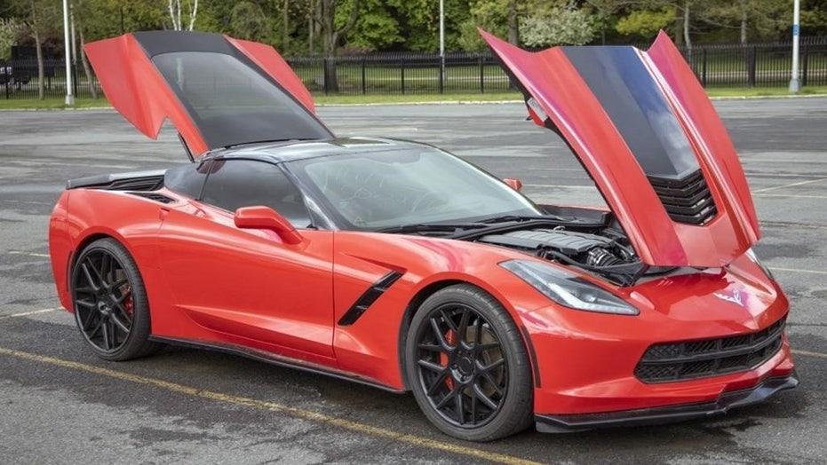 New York State auctioning stolen 2015 Chevrolet Corvette … again