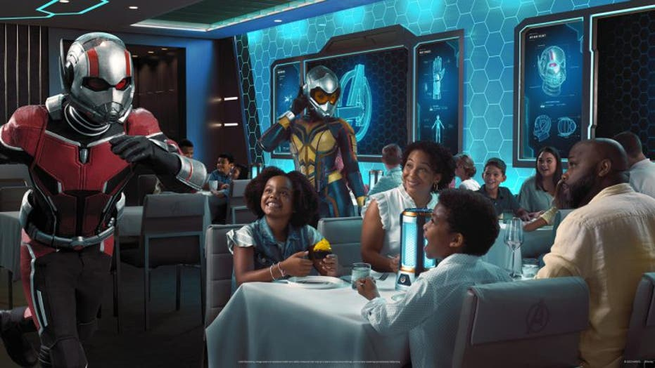 Marvel restaurant on Disney cruise ship will feature 'something that's never been done before in a restaurant'