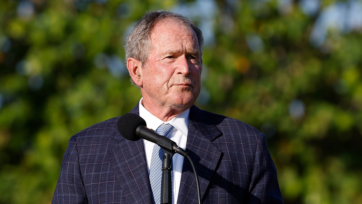 What did former President George Bush have to say about Afghanistan?