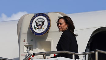 Kamala Harris stops at Pearl Harbor on way back from Asia -- but avoids press questions