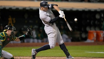 Judge's single sends Yankees past A's for 12th straight win